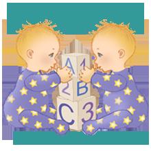 Joyeux Anniversaire, Gémeaux ! droits d'auteur Marian Buchanan, AstroBebes.com